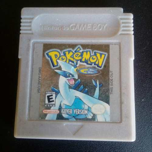 Pokemon Silver Version Gameboy