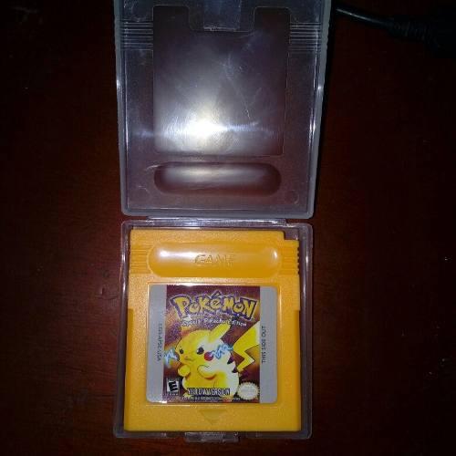 Pokemon Yellow Version Re-pro+ Envio Gratis