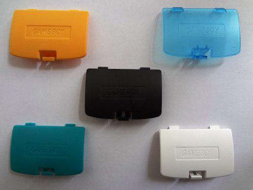 Tapas De Pilas Para Gameboy Color