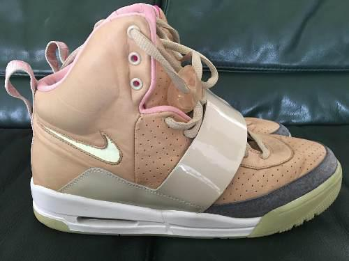 Tenis Nike Air Yeezy 1 Tan Net Original Rareza De Coleccion