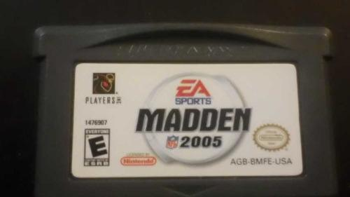 Video Juego Game Boy Madden 2005 (Ea Sport) Funciona