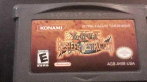 Video Juego Game Boy Yugioh Reshef Of Destruction Funcionand