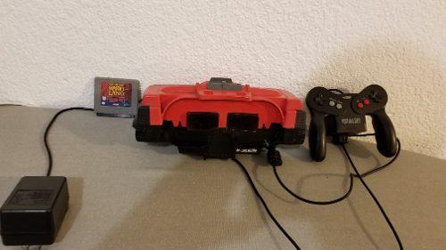 Virtual Boy En Buenas Condiciones Con Un Juego