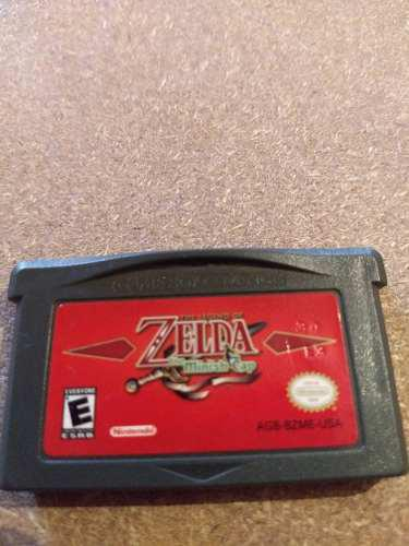 Zelda Minish Cap Nintendo Game Boy Advance