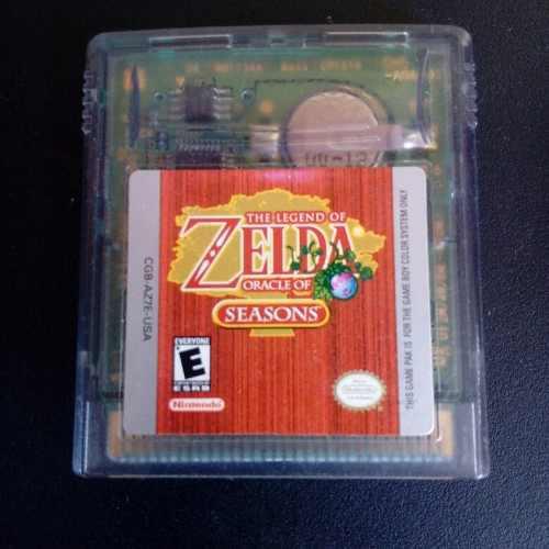Zelda Oracle Of Seasons Gameboy