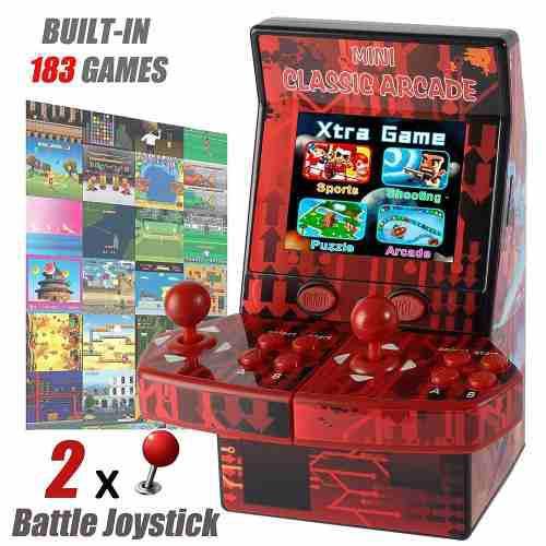 Consola Mini Portátil Con 180 Video Juegos Nintendo Nes