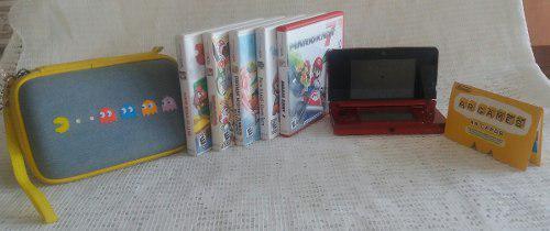 Consola Nintendo 3ds Con Varios Videojuegos