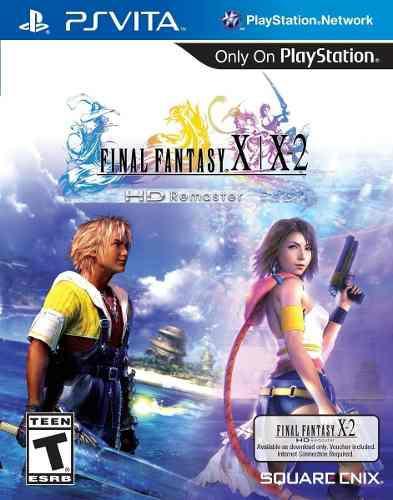 Juego Final Fantasy X|x-2 Hd Remaster Playstation Vita