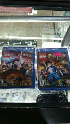 Lego Harry Potter Y Lego Lord Of The Rings Ps Vita