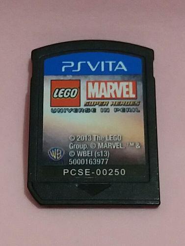 Lego Marvel Super Heroes Para Psvita Sin Caja Usado
