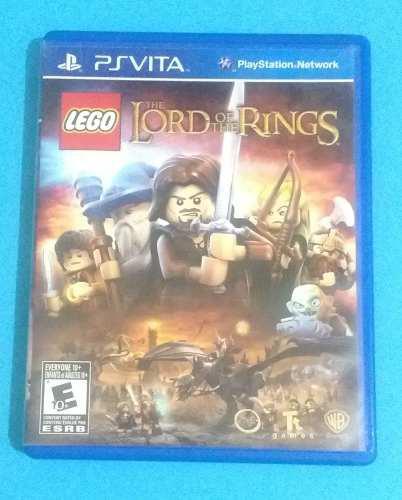 Lego The Lord Of The Rings Para Psvita Usado