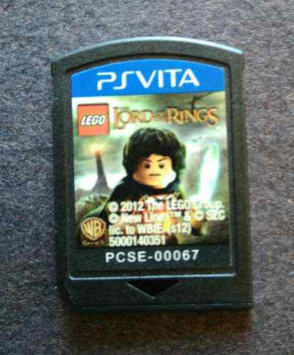 Lord Of The Rings Lego Psvita