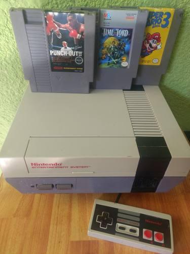 Nintendo Nes Punch Out Mario 3 Videojuego Cartucho