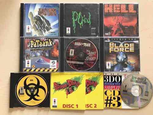 Paquete De Juegos Para Panasonic 3do