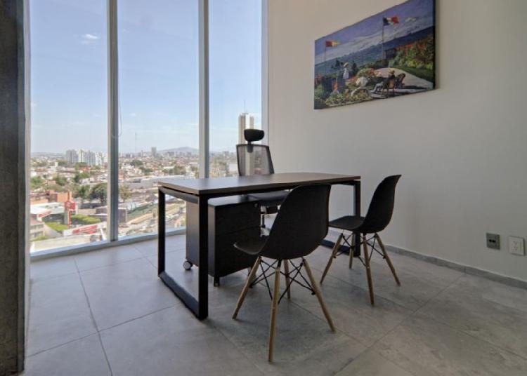 RENTA DE OFICINA EN TORRE CHAPULTEPEC $5,450 CON