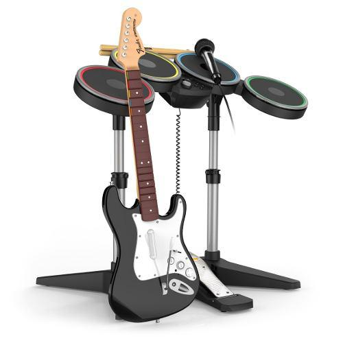 Rock Band 4 Software Ps4 Bateria Y Guitarra(en D3 Gamers)msi