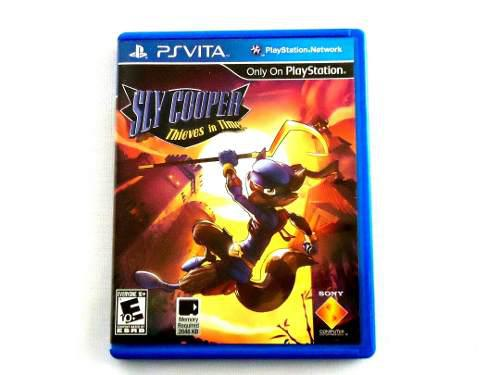 Sly Cooper Thieves In Time Para Ps Vita !!!