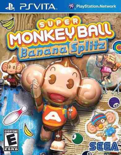 Super Monkey Ball Banana Splitz Psvita