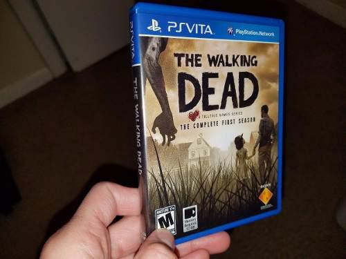 The Walking Dead Complete First Season Ps Vita Barato