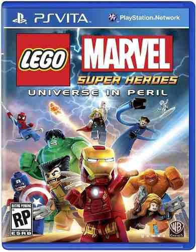Zero Games Envio Gratis Psvita Lego Marvel Super Heroes Df