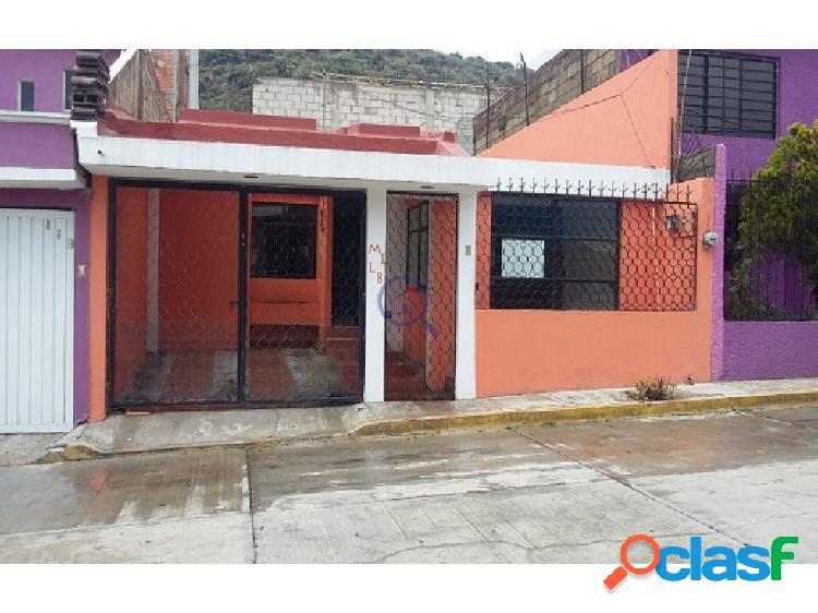 Casa de 3 recamaras en San Cristobal Chacón