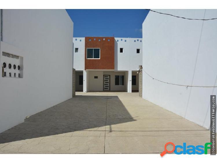 Casa nueva de 3 recamaras en San Jacinto Amilpas
