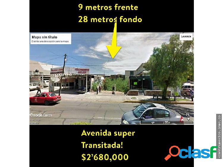 Terreno en venta López Mateos