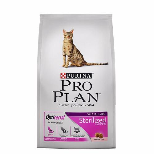 3kg Alimento Purina Proplan Esterilizado Para Gatos