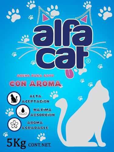 Alfa Cat Arena Para Gatos Aglutinante 25kg Cat Litter