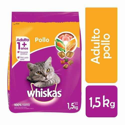 Alimento Para Gato Whiskas Pollo 1.5 Kg