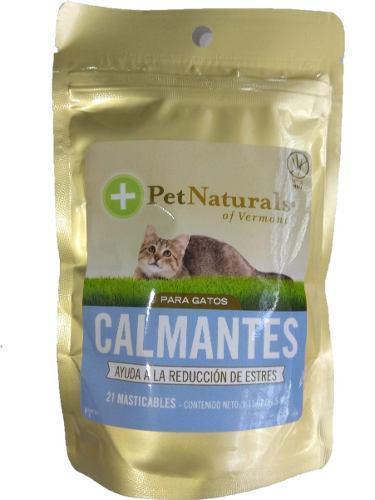 Calmante Para Gato Sobre Pet Naturals