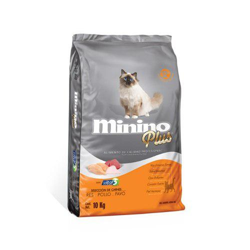 Croquetas Para Gato Minino Plus 10kg