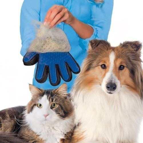 Guante Quita Pelo Cepillar Removedor Mascotas Perro Gato