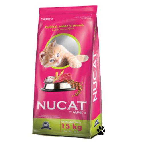 Nucat 15kg By Nupec Alimento Para Gato:)