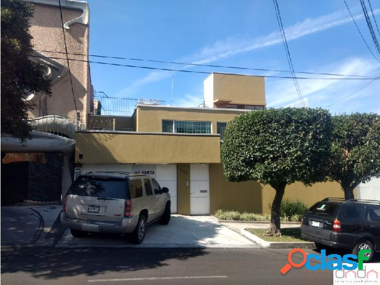 Renta de casa en las Lomas de Chapultepec