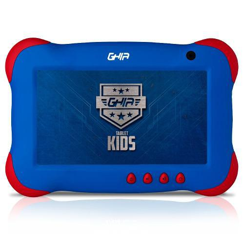 Tablet 7 Pulg Android 8.1 1gb 8gb Quadcore Wifi Bt Kids Azul