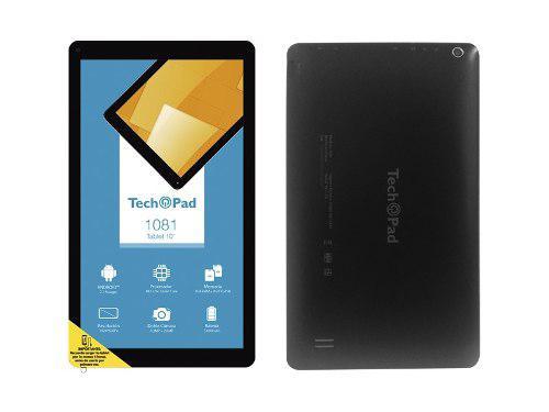Tableta Tech Pad 10 Mod 1081 Negro Precio De Oferta + Envio