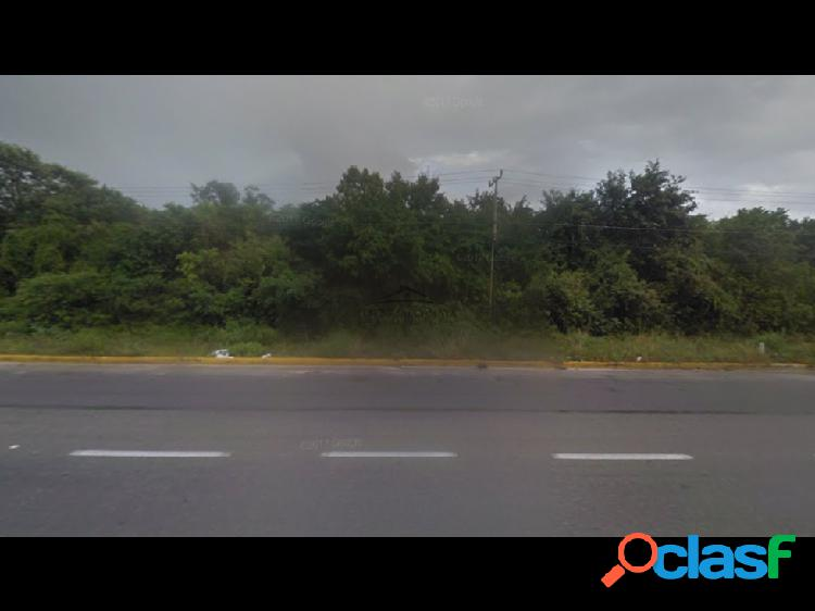 Terreno en venta a orilla de carretera federal