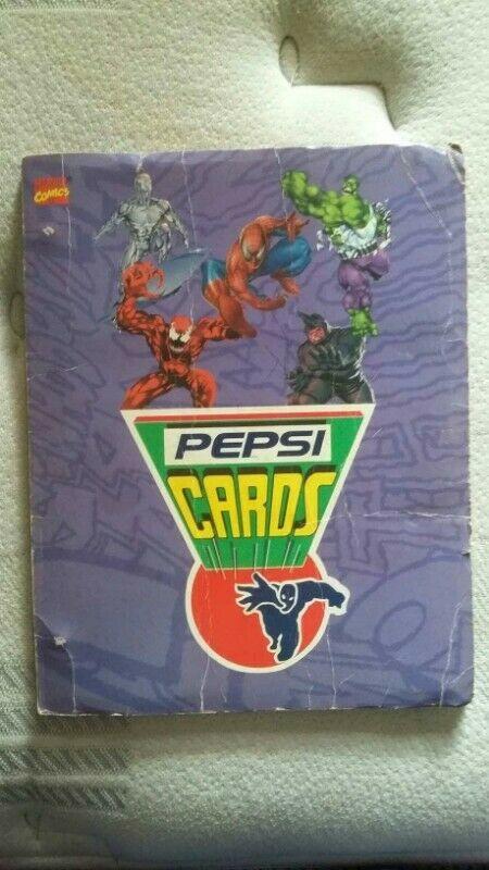Album Pepsi Cards Marvel