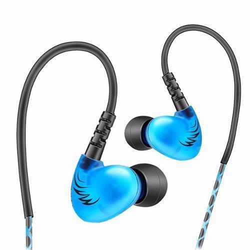 Audífono Monitor Personal Chicharo In Ear Qkz S6 Azul-