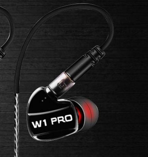 Audífono Monitor Personal In Ear Sport Negro - Aisla - W1