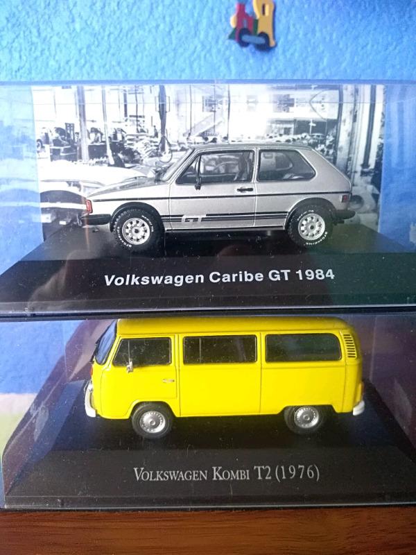 Autos a escala VW
