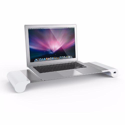 Base Laptop Soporte Monitor Pantalla Cargar Raptida Elegate