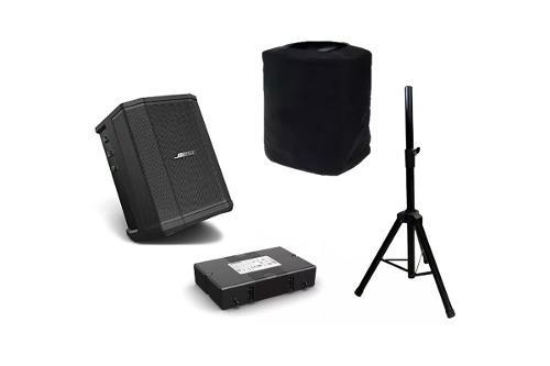 Bose Bocina S1 Pro Incluye Bateria, Atril, Funda Protectora.