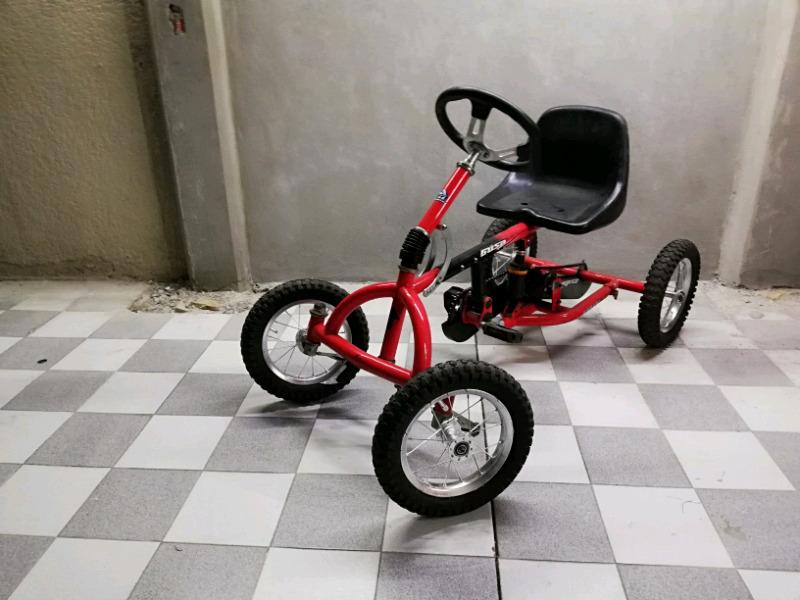 Carrito go kart de pedales para niños bicicarro
