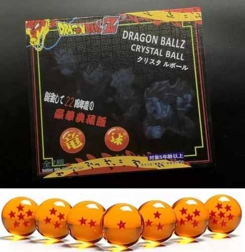 Esferas Dragon Ball Z Goku Vegeta Figuras 4.5 Cm Con Estuche
