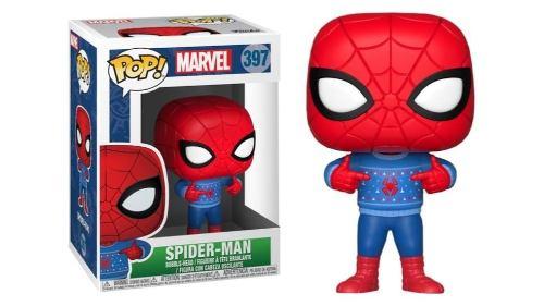 Funko Pop - Spiderman Hombre Araña Navideño Navidad Marvel