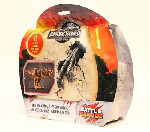 Jurassic World Juego De 15 Mini Dinosaurios Multipack Nuevo