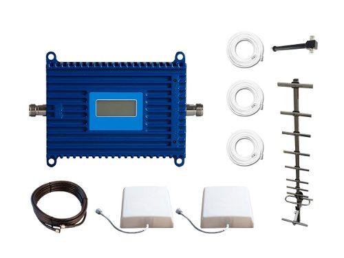 Kit Repetidor De Señal Celular Doble Antena