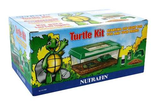 Lote 7 Piezas Kit Para Tortugas Nutrafin Ha